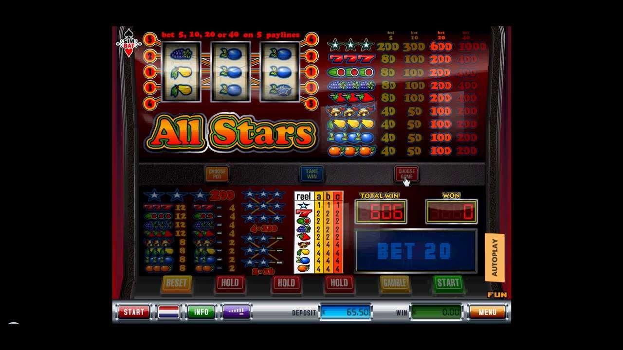 All stars gok automaat